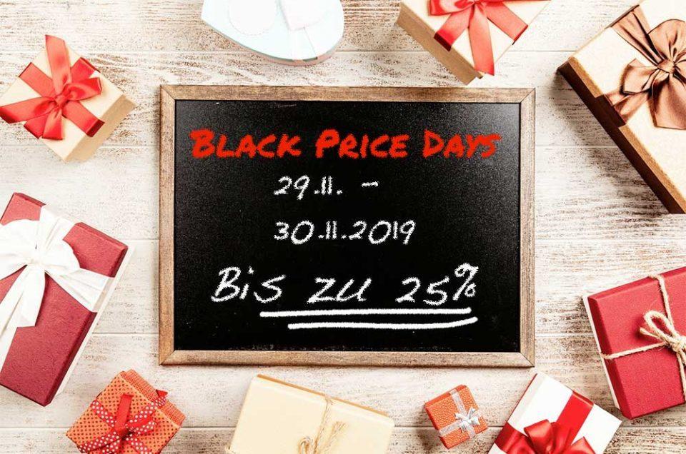 Black Price Weekend 29.11. - 30.11.19
