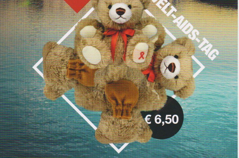 Teddybären der Aidshilfe Frankfurt 2019
