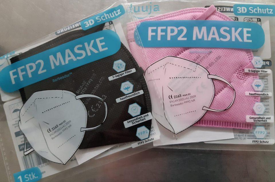 FFp2 Masken für Kinder vorrätig